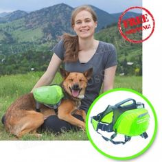 Dog-Backpack-Small-Travel-Daypak-Adjustable-Saddlebag-Camping-Dog-Accessory