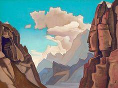 Nicholas Roerich, Great Spirit of the Himalayas, 1934