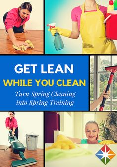 Are you up for a Spring Clean Challenge? If you really are too busy to get to the gym, you don't even have to leave your house to fit in a good workout. There are countless ways to combine exercise with daily tasks--here are 9 calorie-burners to get you started.