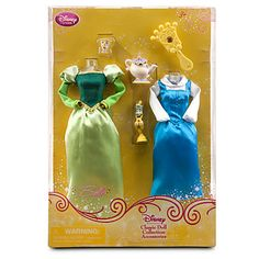 Keira bday  Princess Belle Classic Doll Collection Accessory Set -- 6-Pc. | Dolls | Disney Store