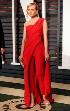 Diane in Donna Karen Atelier at the 2015 post-Oscars party