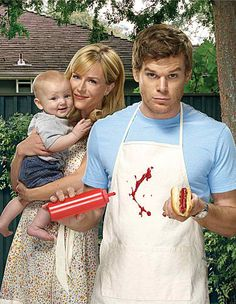 all the food Dexter ever makes always looks like blood.
