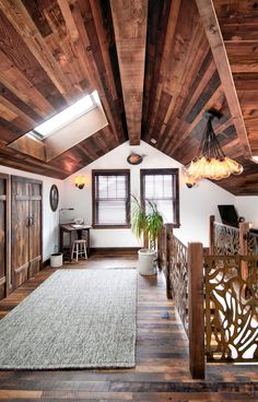 Reclaimed wood beams lend a robust, warm and honest feel to a structure. We offer a variety of wood beams and wood box beams obtained from turn-of-the-century structures. Reclaimed Wood Paneling, Rustic Wood Walls, Wood Beams, Wall Wood, Reclaimed Timber, Second Story Addition, Second Floor Addition, Sunroom Addition, Wood Panel Walls