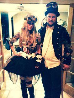 PB and I - DIY Steampunk costumes