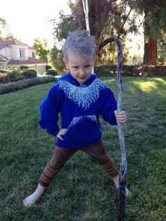 Jack Frost Rise of the Guardians halloween costume.