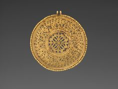 Openwork Medallion  Early Byzantine late 6th or early 7th century |   Read more at http://vmfa.museum/collections/art/openwork-medallion/#uFVvCMoi0gA5byY2.99