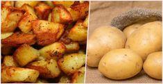 Tajný trik na pečené zemiaky mojej babičky: Keď ich dáte do rúry takto, verte, že na hranolky si už nikdy nespomeniete - Recepty od babky Food And Drink, Vegetables, Vegetable Recipes, Veggies