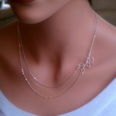 Cupshe Boutique Leaves Multilayer Necklace - $3.99
