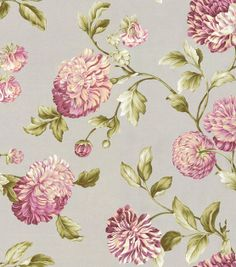 Shop Home Decor Fabric-Waverly Charlotte / Smoke & Print Fabric at Joann.com
