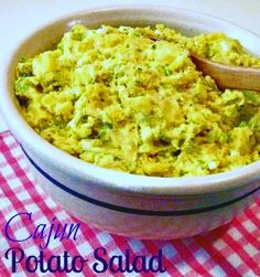 Cooking with K | Southern Kitchen Happenings: Spicy Cajun Potato Salad {A Different Twist on Potato Salad}