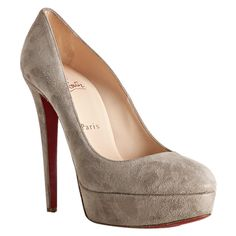 Our Christian Louboutin shop can provide you cheap Christian Louboutin Bianca 140mm Suede Platform Pump Grey. It is a must to offer safe shipping of every purchase. If you are find christian louboutin shoes, I think it is your exact website you are looking at Christian Louboutin Bianca 140mm Suede Platform Pump Grey. Here you'll receive the quality guaranteed bridal shoes.