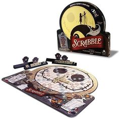 Nightmare Before Christmas Scrabble - Like Scrabble and The Nightmare Before Christmas?  Here's the holiday fun board game for you!
