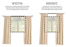 Easy basic tips on how to hang simple curtains and drapery panels