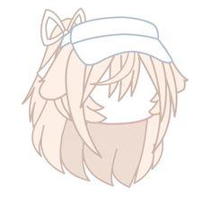Cute Anime Chibi, Kawaii Anime, Anime Cat Boy, Anime Child, Pelo Anime, Cartoon Hair, Cute Food Drawings, Club Hairstyles, Doodle Art Drawing