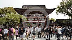 The Dazaifu Tenmangu Shrine at Fukuoka, Japan.  #Dazaifu #Tenmangu #Shrine #Fukuoka #Japan #dreamstime #photography