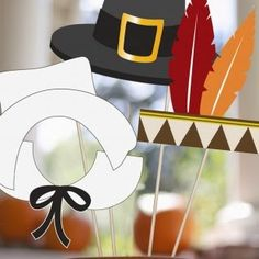 This site has some adorable Thanksgiving themed photo booth props. Best part is, they are free! Also, kids love photo booths. Look at any LDS wedding.