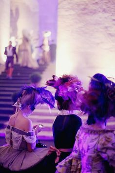 ...the cherry blossom girl's night at a costume ball at Versailles...