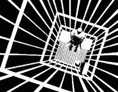 Negative space by Frank Miller (Sin City)  #Frank miller #negative space #illustration #drawing