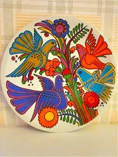 Acapulco plate  - Vileroy and Boch. I just bought two of these salad plates!