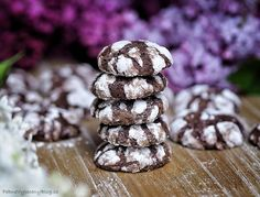 Citronové sušenky – razítkuje celá rodina – PĚKNĚ VYPEČENÝ BLOG Crinkle Cookies, Crinkles, Biscotti, Christmas Cookies, Bakery, Chocolate, Cooking, Breakfast, Sweet