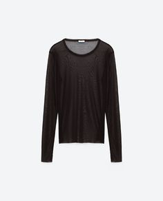 Image 6 of TRANSPARENT T-SHIRT from Zara
