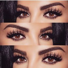 ig: hudabeauty: False Mink Lashes in Farah - Hair & Beauty Trends Love Makeup, Beauty Makeup, Hair Makeup, Mua Makeup, Makeup Art, Huda Beauty, Fiber Lash Mascara, Fiber Lashes, Faux Lashes