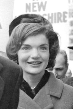 sophieandbrianna:  The Young Jacqueline Kennedy on the campaign trail, staring wide-eyed at something in front of her.