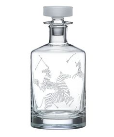 Scalamandre for Lenox decanter. This is one for the registry!