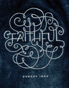 """Sunday Ibok was taken off life support this morning. An amazing man that will be dearly missed. 100% of proceeds from this print are going to Sunday's family to help with expenses. """"FAITHFUL"""" was Sunday's last tweet, designed by Jeff Rogers, a very talented designer."""