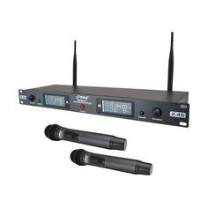 Pyle - PylePro Wireless Microphone System - Black, PDWM3800