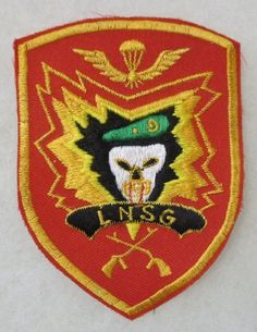 LNSG SPECIAL FORCES Post VIETNAM WAR ASIAN Made PATCH for VETERANS & COLLECTORS