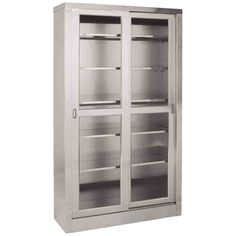 Large Metal Storage Cabinets  sc 1 st  Pinterest & 32 best Metal Storage Cabinets images on Pinterest | Metal storage ...