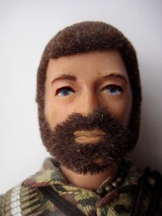 GI Joe with a beard....