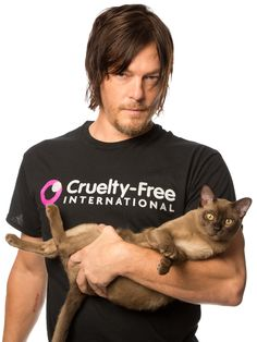 Walking Dead Star Takes a Stand against animal cruelty. Way to get the ladies!