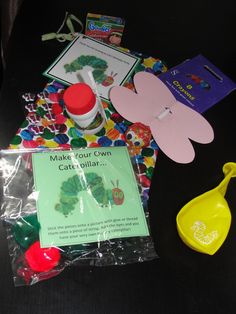 very hungry caterpillar party bag