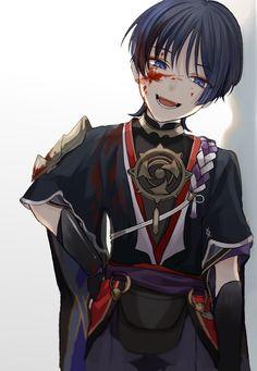 Estilo Anime, Albedo, Game Art, Anime Guys, Art Reference, Anime Characters, Character Art, Fandoms, Sketches