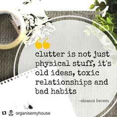 What a great #quote we all have way too much #clutter in our lives. It's time to #simplify. #simplyclean #clutterfree #simplicityeverywhere #clutterfree