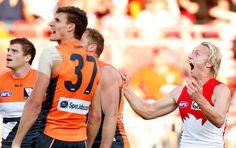 Rose gets 3 goals in 10 minutes AFL 2015 Rd 21 - GWS Giants v Sydney - AFL.com.au