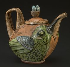 Crow Teapot LISA NAPLES