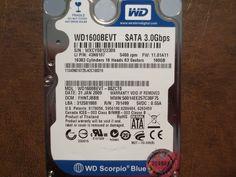 Western Digital WD1600BEVT-88ZCT0 DCM:FHNTJBBB 160gb Sata - Effective Electronics