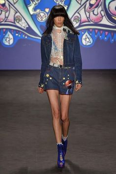 Serendipitylands: FASHION WEEK NEW YORK SPRING 2015 - ANNA SUI