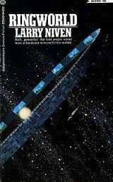 Ringworld by Larry Niven, 1970, won both the Hugo Award and the Nebula Award for best novel. First of the Ringworld series.