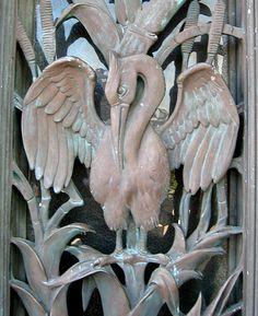 Art Deco Bronze Bird - New Orleans