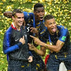 Put these 3 in order your favourite first. France National Football Team, France Football, Football Squads, Football Soccer, Soccer Post, Nba Pictures, Football Is Life, Football Wallpaper, Uefa Champions League