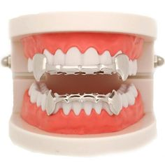 Gold Fangs, Girl Grillz, Pressure Makes Diamonds, Silver Grillz, Grills Teeth, Tooth Gem, Gold Grill, Beauty Magic, Jewelry Rings
