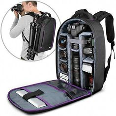 e422755d3b88 Discounted DSLR Camera and Mirrorless Backpack Bag by Altura Photo for  Camera and Lens (The Wanderer Series)