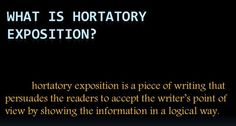 What is Hortatory Exposition? Pengertian dan Contoh
