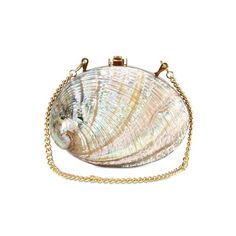 ROCIO - SHELL AND WOOD CLUTCH ($625) ❤ liked on Polyvore featuring bags, handbags, clutches, purses, accessories, wooden purse, shell purse, hand bags, man bag and seashell purse