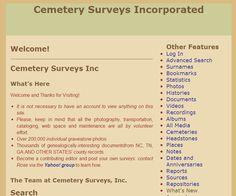Cemetery Surveys Inc.