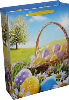 RZOnlinehandel - Oster-Geschenktasche Osterkorb Basket, Packaging, Easter Activities, Gifts